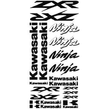 Kawasaki ZXR Ninja Stickers Car Motorbike Vinyl Decals
